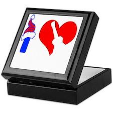 I Love Ukulele Keepsake Box