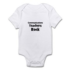 Communications Teachers Rock Infant Bodysuit