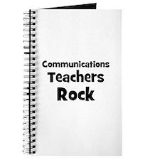 Communications Teachers Rock Journal