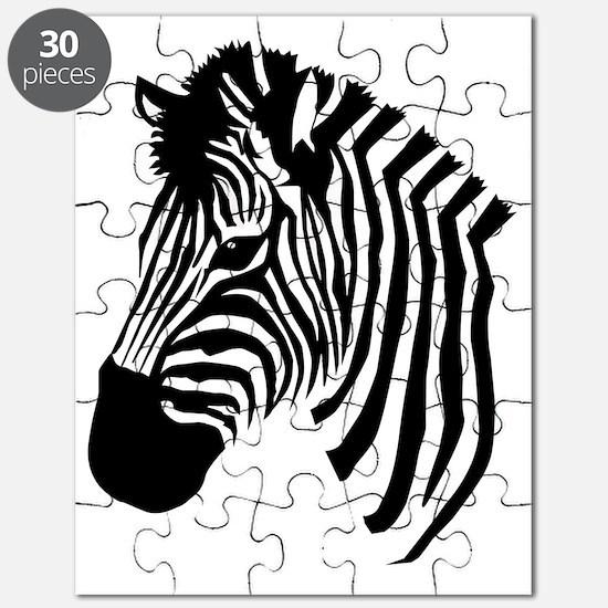 Zebra Head Puzzle