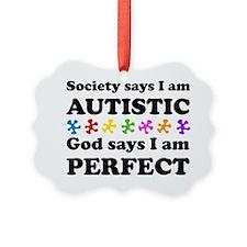 Autistic=Perfect Ornament