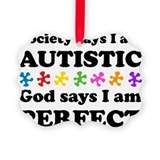 Autism Picture Frame Ornaments