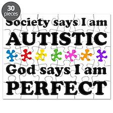 Autistic=Perfect Puzzle