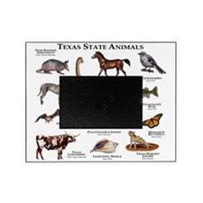 Texas State Animals Picture Frame