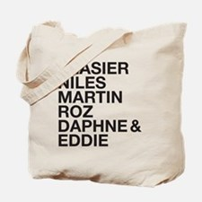 Frasier Cast Tote Bag