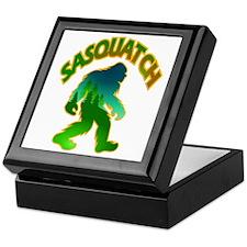 Sasquatch Forest Scene Keepsake Box