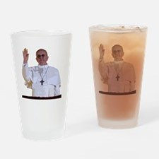 Pope Francis I Drinking Glass