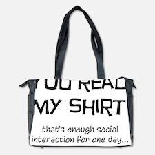 Social Interaction Diaper Bag
