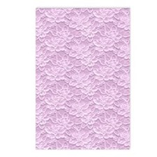 Romantic Lace African Vio Postcards (Package of 8)