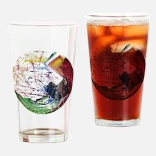 Rainbow Quartz Drinking Glass