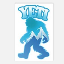 Yeti Mountain Scene Postcards (Package of 8)