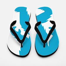Sasquatch Yeti Body Flip Flops