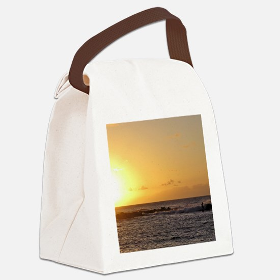 Molokai Surf Canvas Lunch Bag