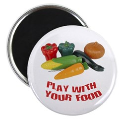 Play With Your Food Magnet
