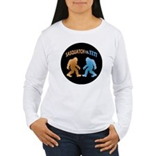 Sasquatch Yeti Match U T-Shirt