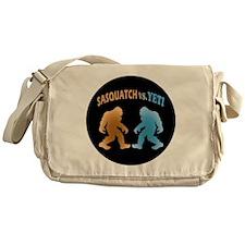 Sasquatch Yeti Match Up Messenger Bag