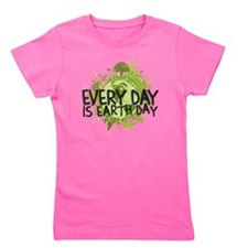 Earth Day Girl's Tee