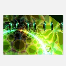 Dawn of Time Abstract Fra Postcards (Package of 8)