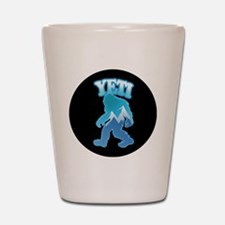 Yeti Mountain Scene Shot Glass