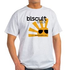 biscuit truck shirt 7 black T-Shirt