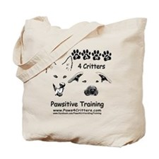 Paws4Critters Pawsitive Dog Training Tote Bag