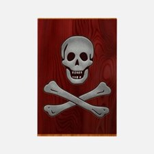 steelwood-pirate-912 Rectangle Magnet
