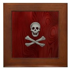 steelwood-pirate-PHNz Framed Tile