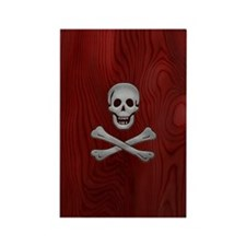 steelwood-pirate-PHNz Rectangle Magnet