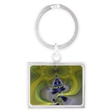 Green Goblin Large Serving Tray Landscape Keychain