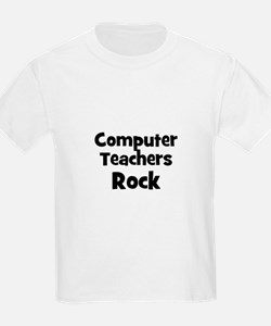 Computer Teachers Rock T-Shirt