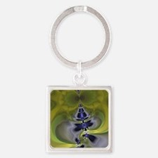 Green Goblin Square Keychain