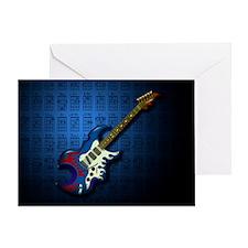 KuuMa Guitar 02 (B) Greeting Card