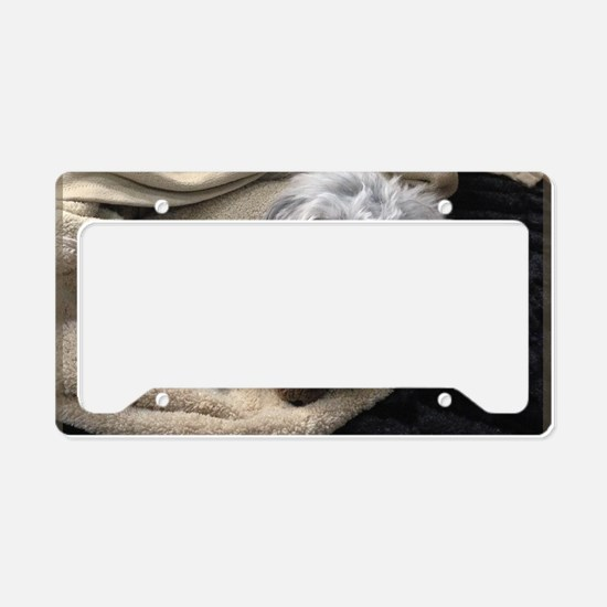 get well soon License Plate Holder