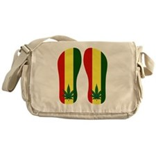 Marijuana Leaf Messenger Bag
