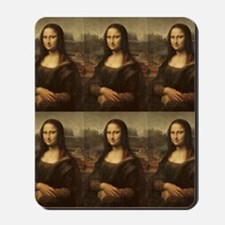 Vintage Mona Lisa Mousepad