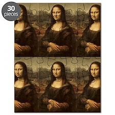 Vintage Mona Lisa Puzzle
