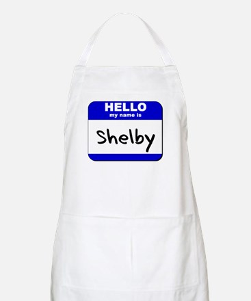 hello my name is shelby  BBQ Apron