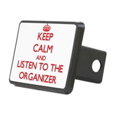Keep Calm and Listen to the Organizer Hitch Cover