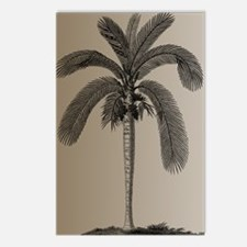 Golden Palm Tree Postcards (Package of 8)