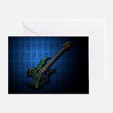 KuuMa Guitar 05 (B) Greeting Card