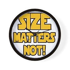 Size matters not! Wall Clock