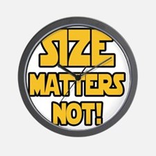 Size matters not! Wall Clock