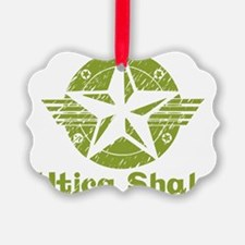 utica_shale_pro_fracking_green Ornament