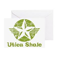 utica_shale_pro_fracking_green Greeting Card