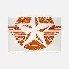 utica_shale_pro_fracking_orange Rectangle Magnet