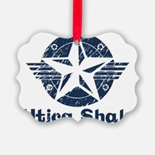 utica_shale_pro_fracking_navy Ornament