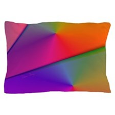 Origami Abstact Fractal Rainbow Pillow Case