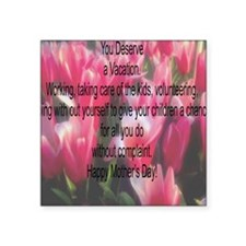 """Mothers Day Square Sticker 3"""" x 3"""""""