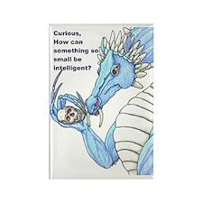 Dragon Ponder Rectangle Magnet