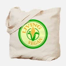 Living Vegan Tote Bag